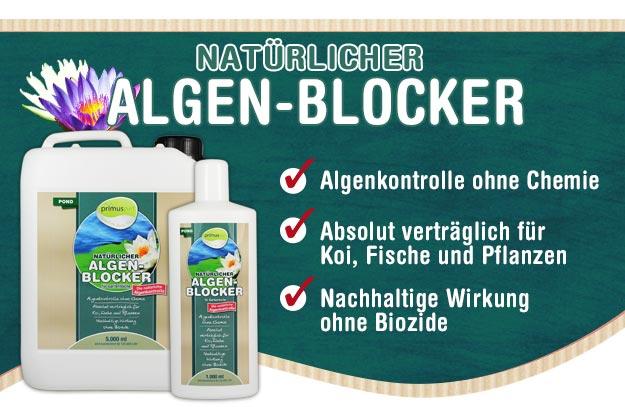 primuspet BioNature Natürlicher ALGEN-BLOCKER für Ihren Gartenteich