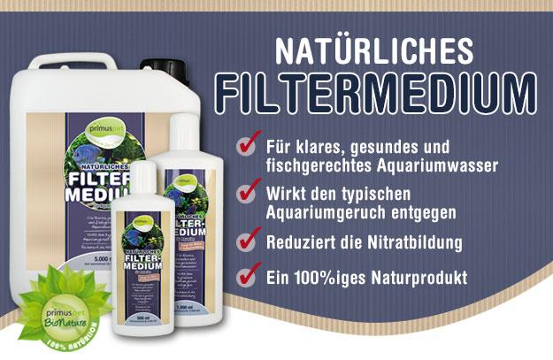 Flüssiger & natürliches Filtermedium für Ihr Aquarium