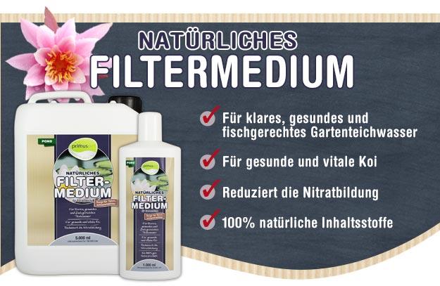 Flüssiges & natürliches Filtermedium