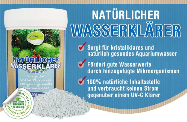 primuspet BioNature Natürlicher Wasserklärer